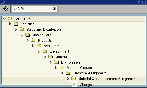 sap delete characteristic assignment